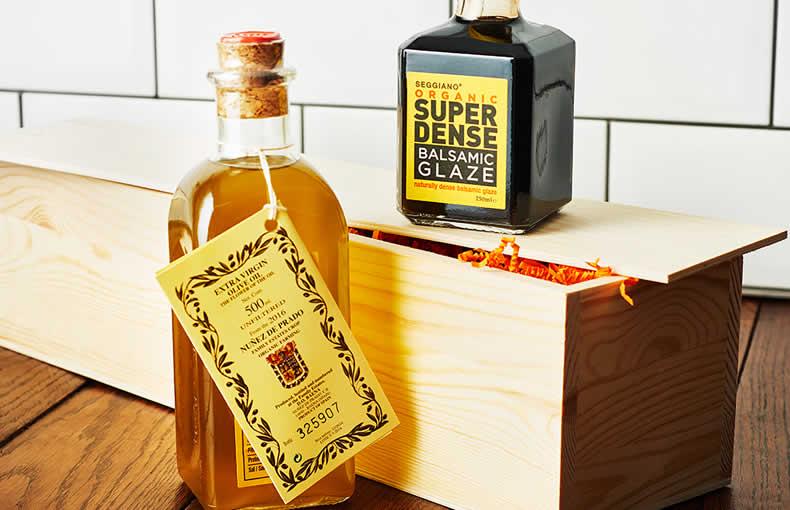 Extra Virgin Olive Oil & Balsamic Glaze