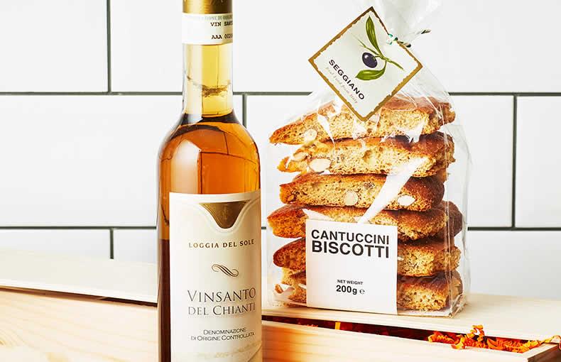 Dessert Wine & Biscotti