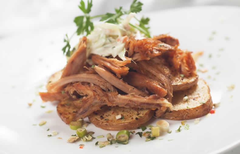 Maple & Mustard Pulled Pork
