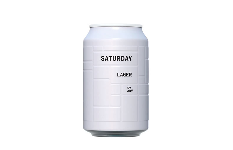 & Union Unfiltered Lager Can
