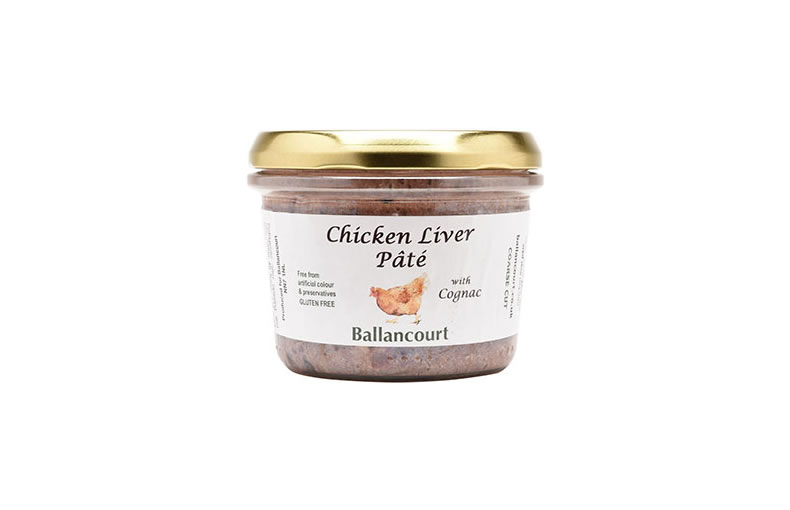 Chicken Liver Pate with Cognac (or Port)  GLUTEN FREE