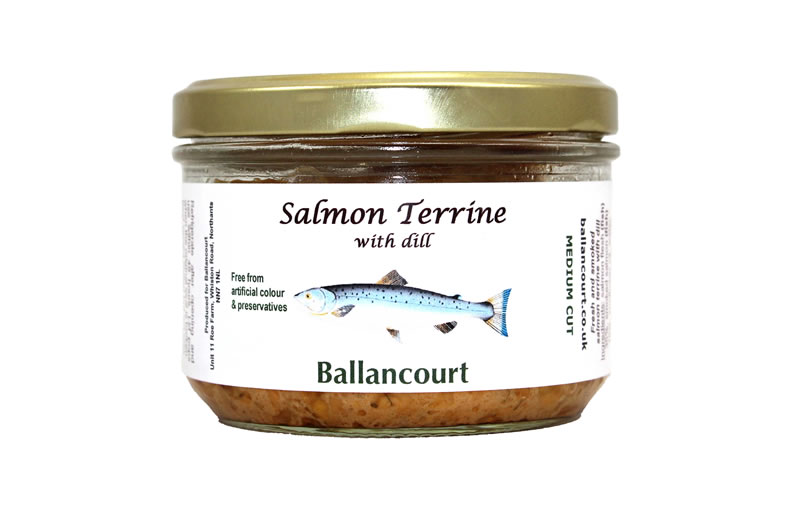 Salmon Terrine with Dill