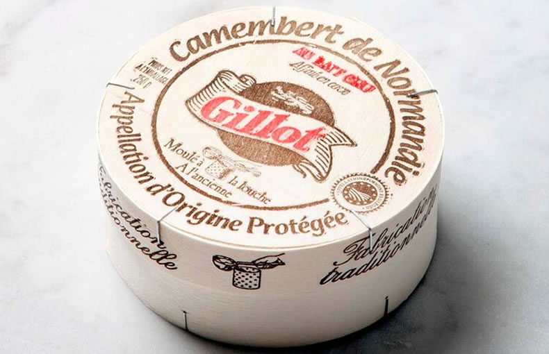 Camembert De Normandie Gillot