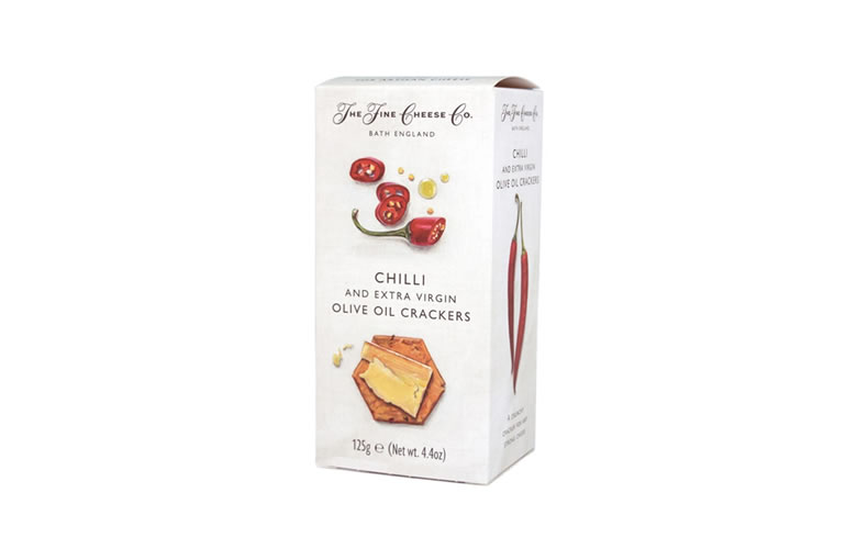 The Fine Cheese Co. Chilli and Extra Virgin Olive Oil Crackers