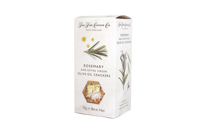 The Fine Cheese Co. Rosemary and Extra Virgin Olive Oil Crackers