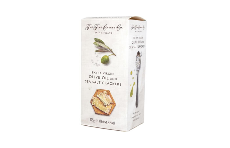 The Fine Cheese Co. Extra Virgin Olive Oil and Sea Salt Crackers