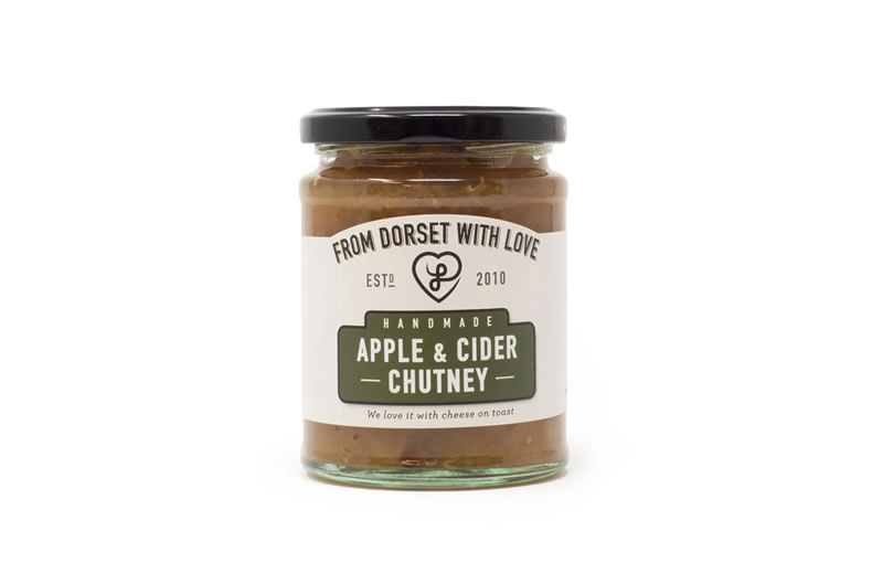 From Dorset With Love Apple & Cider Chutney