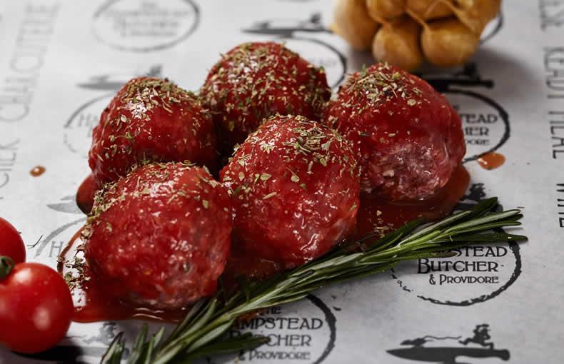 Beef Meatballs in Italian Sauce