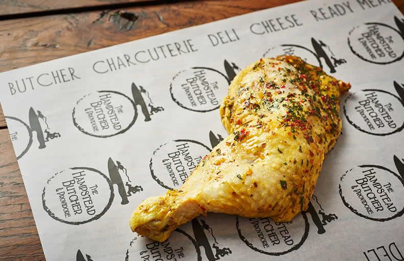 Chicken Leg in a Marinade