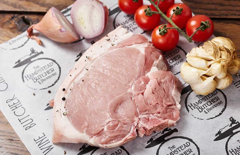 Pork Loin Chop in a Marinade