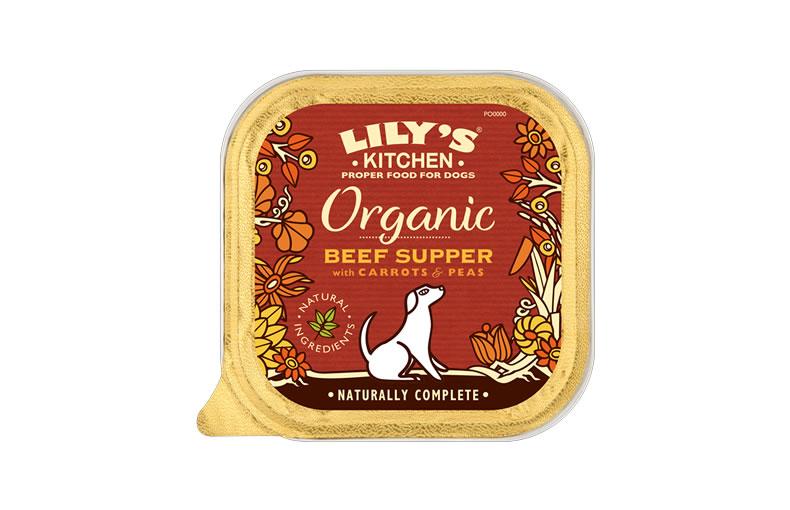 Organic Beef & Spelt Dog Food