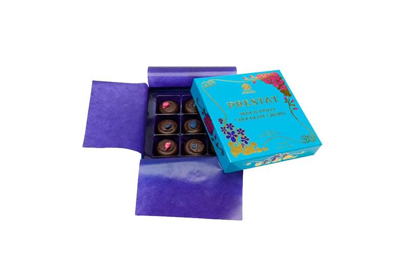Prestat Rose & Violet Cremes Box