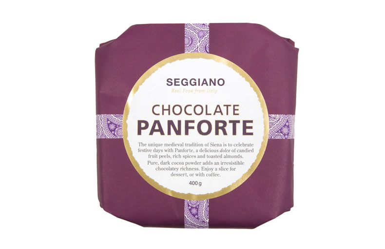 Traditional Italian Chocolate Panforte