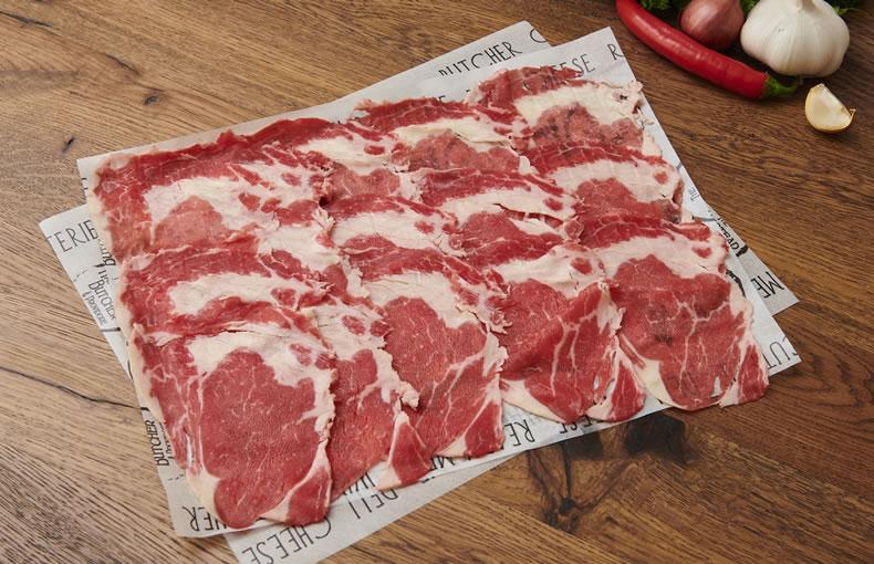 Rib Eye Steak - Shabu Shabu