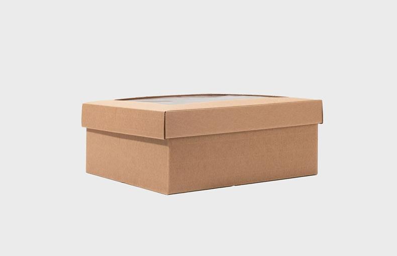 Fluted Cardboard Hamper Box