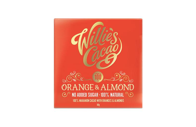 Willie's Orange & Almond Bar