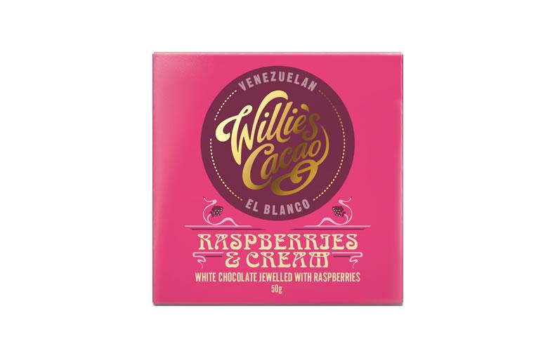 Willie's Raspberries & Cream Bar